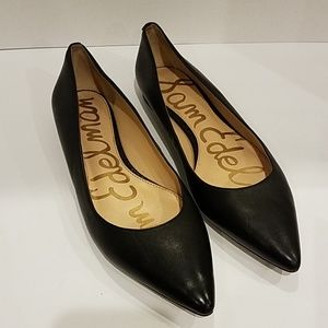 Sam Edelman Black flat shoes sz 9.5